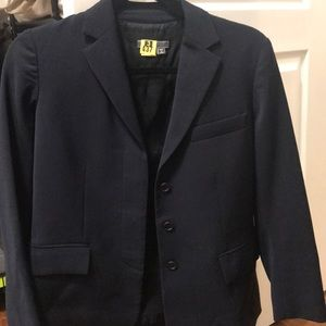 Vince. Navy blue blazer.